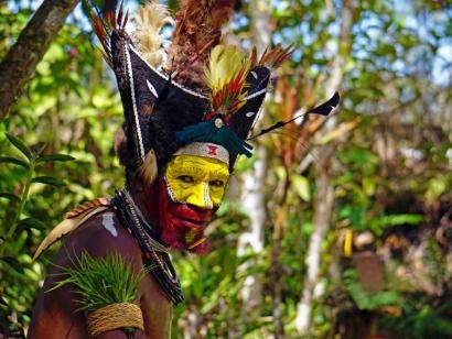 Reise in Papua-Neuguinea, Eindrücke vom Kutubu-Festival
