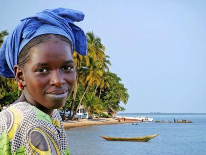 Reise in Senegal, Goree island