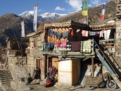 Reise in Nepal, Große Annapurna-Runde Trekkingrundreise