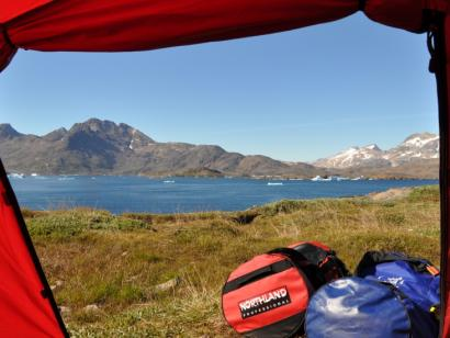 Grönland - Reise: Natur- und Wandererlebnis Westgrönland (17 Tage Wanderreise mit Schlafsackunterkunft und Zelt)