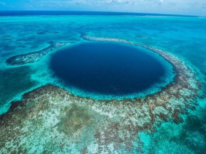 Reise in Belize, Blue Hole