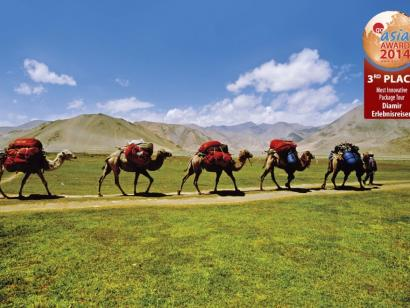 Große Seidenstraße Teil 1, 2 und 3 Vom Kaukasus zum Tienschan–7 Länder und unfassbare 9000km in 49Tagen lassen Traveller-Herzen höher schlagen