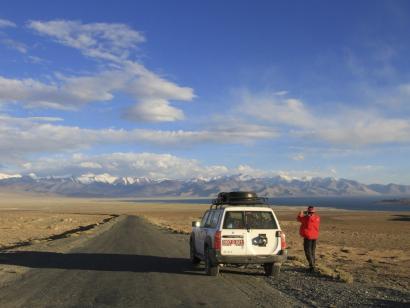 Reise in Tadschikistan, Ishkashim mit Hindukush