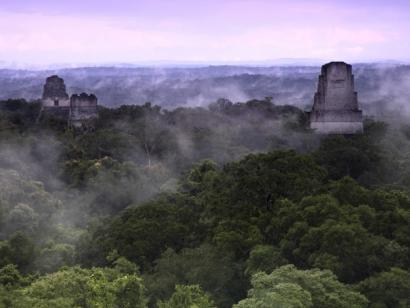 Reise in Mexiko, Tikal