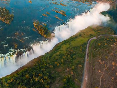 Reise in Simbabwe, Viktoriafälle