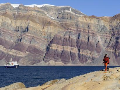 Reise in Grönland, Fantastischer Herbsttag im Scoresby-Sund