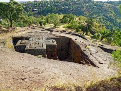 Reise in Äthiopien, Priester in Lalibela