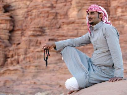 Reise in Jordanien, Beduine