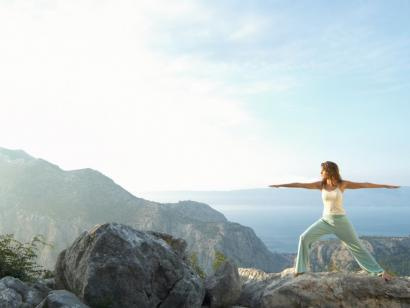 Reise in Kroatien, Hotel Balatura: Einfach Hatha-Yoga