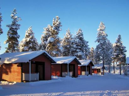 Reise in Schweden, Eine Verschnaufpause braucht auch der schnellste Husky