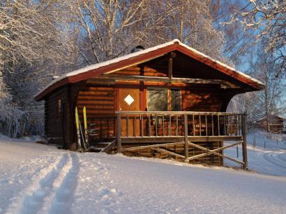 Reise in Schweden, Hüttenmiete Gammelbyn Winter