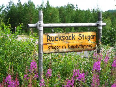 Reise in Schweden, Hüttenmiete Rucksack Stugor i Idre Sommer
