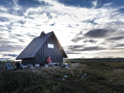 Reise in Schweden, Hüttentour Kungsleden