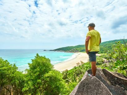 Reise in Seychellen, Anse Source d'Argent