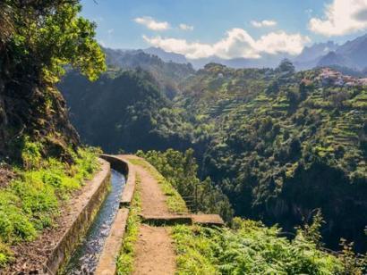 Reise in Portugal, Levada-Wandern auf Madeira