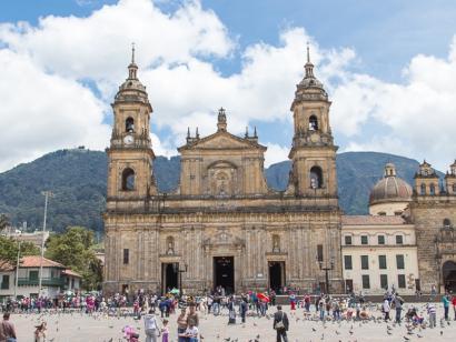 Reise in Kolumbien, Bogota