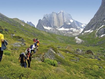 Reise in Grönland, Die kleine Siedlung Igaliko