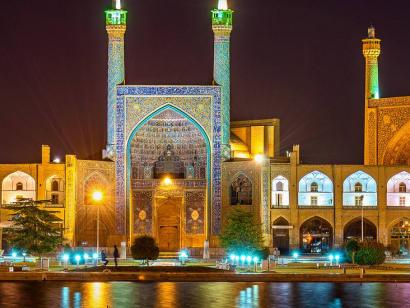 Reise in Iran, 0
