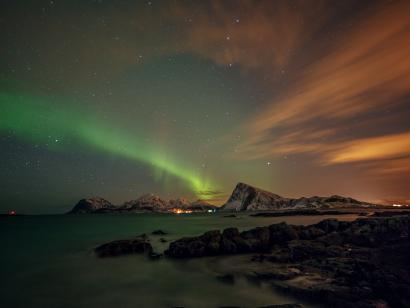 Reise in Island, Island: Polarlichter