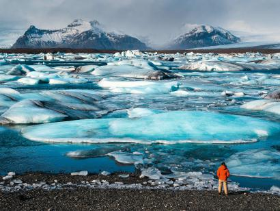 Reise in Island, Island: Wandern