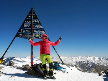 Reise in Marokko, Auf dem Gipfel des Jebel Toubkal liegt einem ganz Marokko zu Füßen!