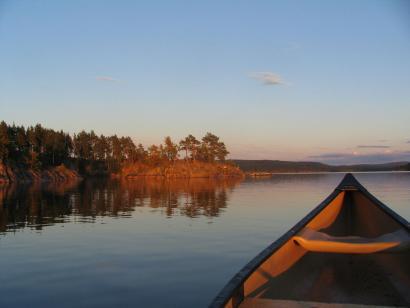 Reise in Schweden, Kanutouren für Gruppen