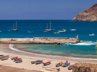 Reise in Kap Verde, Bucht auf den Kapverden