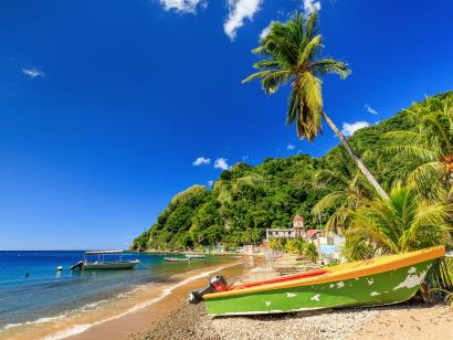 Reise in Guadeloupe, Karibik active