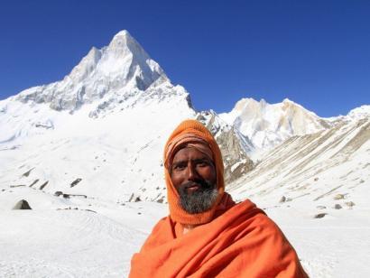 Reise in Indien, Kedar Dome (6831m)