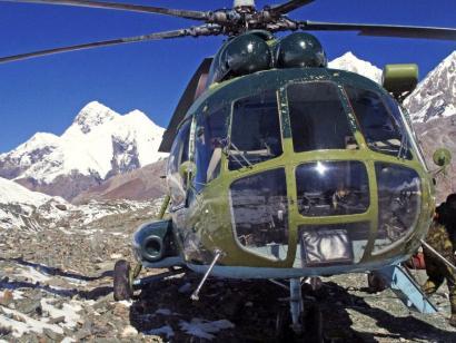 Reise in Kirgistan, Khan Tengri (7010m)
