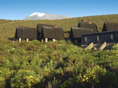 Reise in Tansania, Bick auf den Kilimanjaro vom Mount Meru