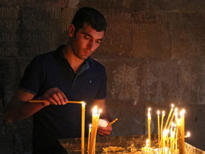 Reise in Armenien, Khor Virap mit Wolga