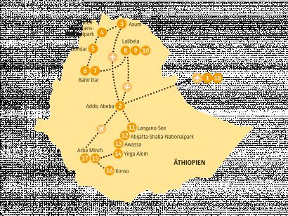 Reise in Äthiopien, 0