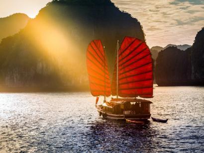 L'Indochine mit allen Sinnen Halongbucht, Hoi An und Angkor – Entspannt und stilvoll die Höhepunkte Indochinas erleben