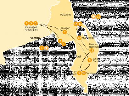 Reise in Malawi, 0