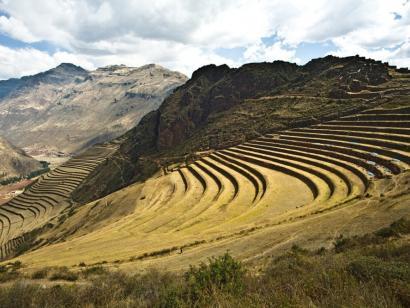 Reise in Peru, Farbenfrohe Webarbeiten