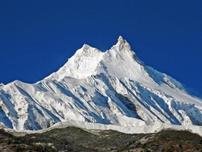 Reise in Nepal, Kloster Lho vor Manaslu