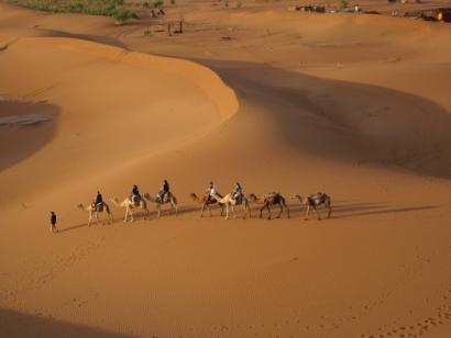 Reise in Marokko, Marokko - Wüstenwunder und Sternstunden aus 1001 Nacht (10 Tage Kameltrekking in der Wüste Südmarokkos)