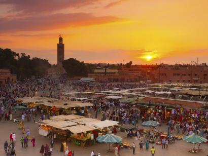 Reise in Marokko, Marrakesch: Städtereise
