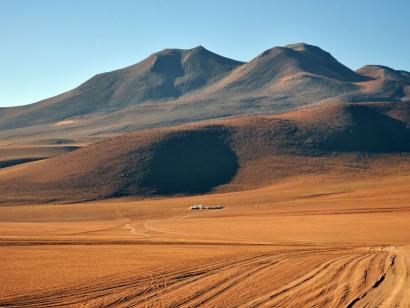 Reise in Bolivien, Altiplano
