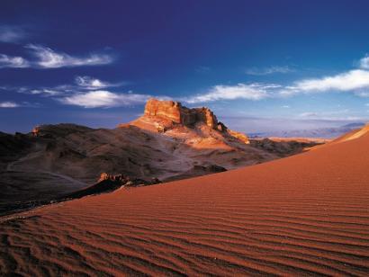 Reise in Chile, Atacama Wüste