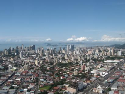 Reise in Panama, Panama City