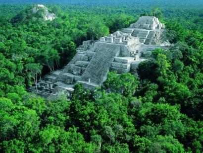 Reise in Mexiko, Die alte Mayametropole Calakmul