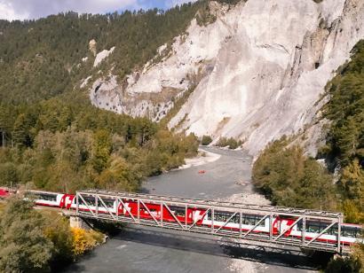 Reise in Schweiz, Mit dem Bähnli durch die Schweizer Alpen (2021/2022)