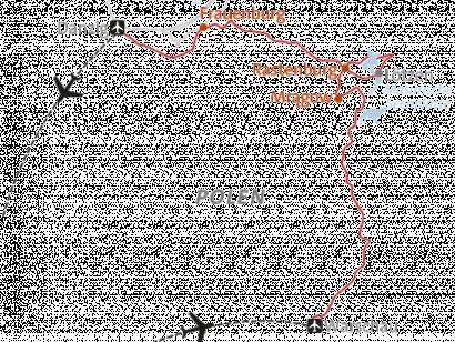Reise in Polen, Landkarte zu Mit dem E-Bike durch Polen Alpinschule Innsbruck
