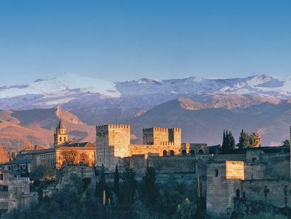 Reise in Spanien, Alhambra - Granada - Spanien