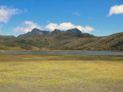 Reise in Ecuador, Traumhaftes Andenhochland