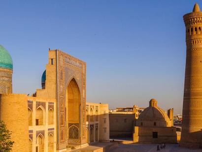 Mit dem Orient Silk Road Express durch Usbekistan (2022)