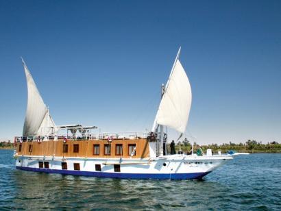 Mit dem Segelboot auf dem Nil nach Assuan Flusskreuzfahrt