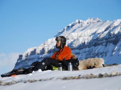 Reise in Spitzbergen, Hundeschlittentour im winterlichen Spitzbergen